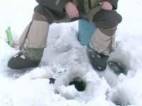 Отдых в Кирилловке. Зимняя рыбалка.