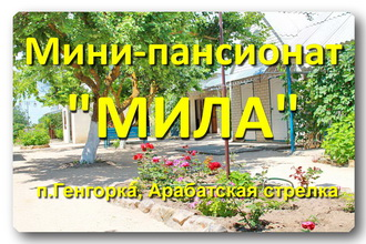 Мини-пансионат «МИЛА»