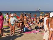Отдых на Арабатской стрелке 2014, отдых в Геническе 2014 года, отдых на Азовском море 2014, летний отдых на море, где отдохнуть на море в 2014 году, Генический детский пляж