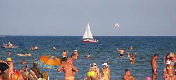 Отдых в Геническе 2014. Детский отдых на море.