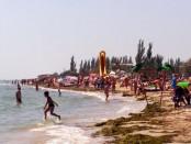 Отдых на Азовском море на Арабатской стрелке, в Стрелковом, в Счастливцево, в Генгорке, Генической Горке, в Геническе, на детском пляже
